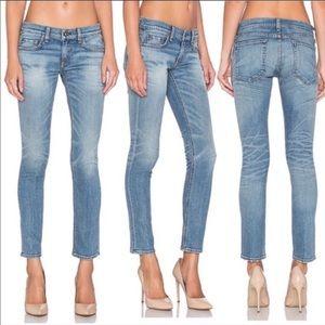 Rag & Bone Tomboy Skinny Jeans Light Wash